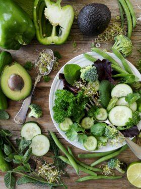 paleo dieet salade groenten